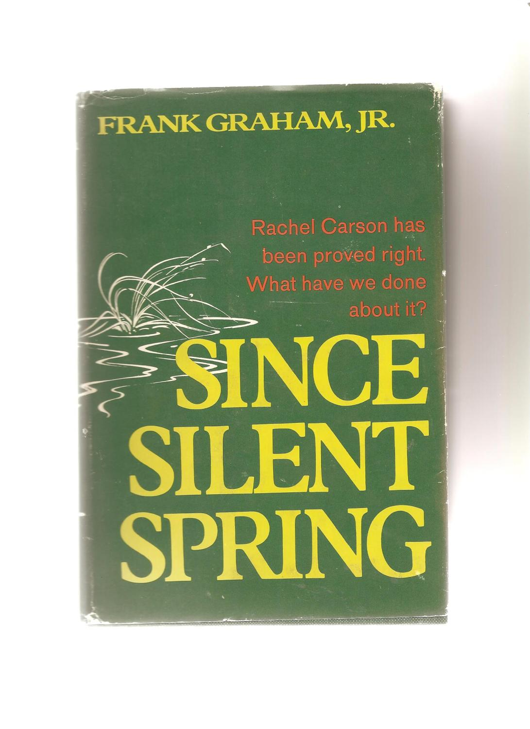 a description of rachel carsons book silent spring Silent spring is an environmental science book by rachel carson the book was published on 27 september 1962 and it documented the adverse effects on the environment of the indiscriminate use of pesticides.