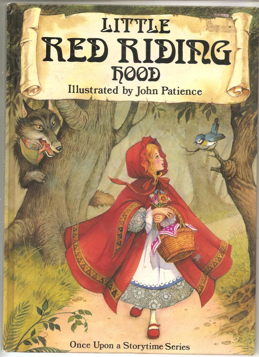 Little Red Riding Hood By Patience John Illustrator As New