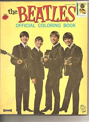The Beatles Official Coloring Book