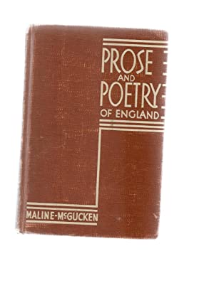 Prose and Poetry of England: McGraw,H.Ward, Illustrated by