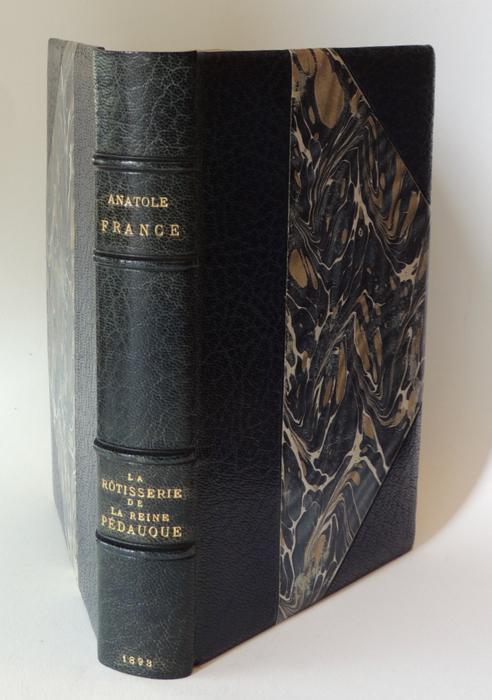 La rôtisserie de la Reine Pédauque France Anatole Hardcover