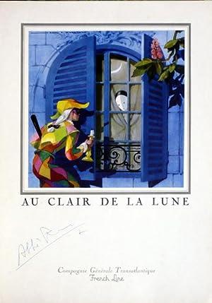 Menu Diner de Gala du Dimanche 24: Jean Adrien Mercier]