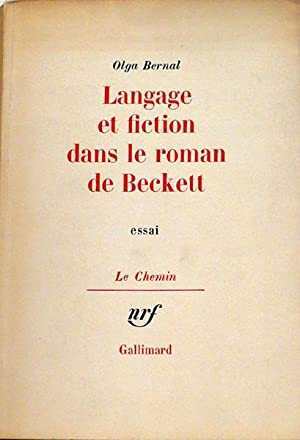 Langage et fiction dans le roman de: Bernal Olga
