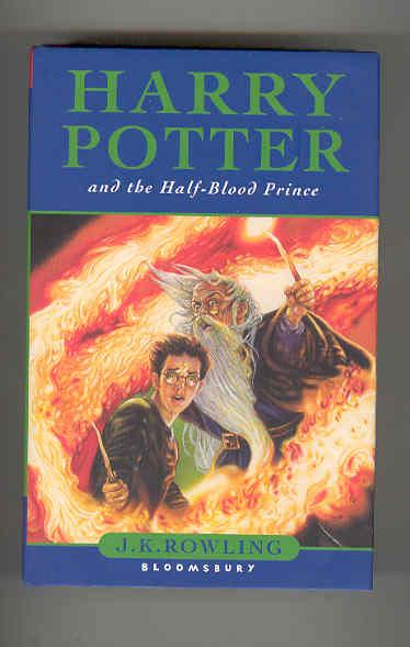 harry potter and the halfblood prince misprinted copy