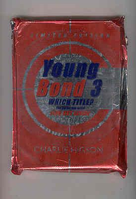 YOUNG BOND 3 Which Title? Unopened Still Sealed in Foil Envelope: HIGSON, Charlie