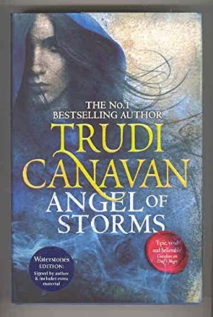 ANGEL OF STORMS Book Two of Millennium's Rule (SIGNED COPY): CANAVAN, Trudi