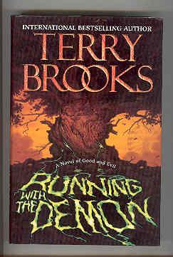RUNNING WITH THE DEMON (SIGNED COPY): BROOKS, Terry