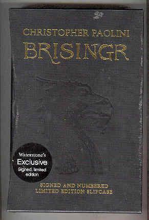 BRISINGR (SIGNED COPY): PAOLINI, Christopher