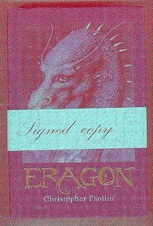 ERAGON Inheritance Book One (SIGNED COPY): PAOLINI, Christopher