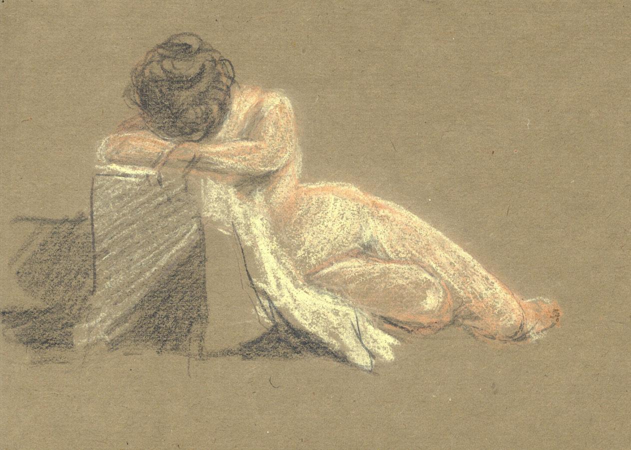 George William Collins (1863-1949) - Drawings, Nude Studies George William Collins (1863-1949)