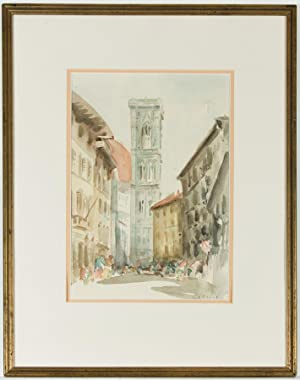 Robert Bruce Church - Signed Mid 20th Century Watercolour, Duomo, Florence