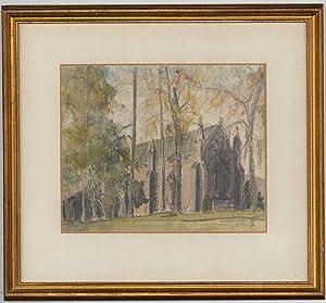 K. Haring - Mid 20th Century Watercolour,: K. Haring