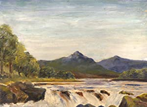 Cannell - Early 20th Century Oil, Glen: Cannell