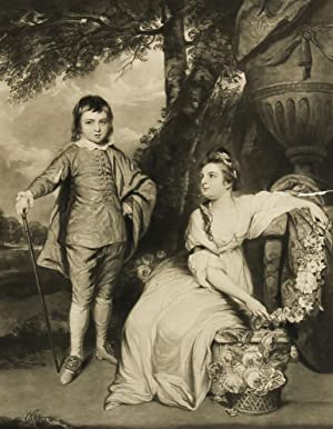 After Sir Joshua Reynolds - 1817 Mezzotint,: After Sir Joshua