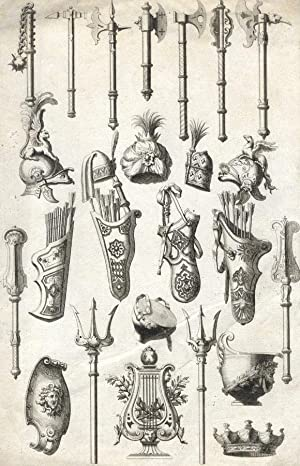 Marguerin Daigremont - 18th Century Engraving, Arms and Weapons