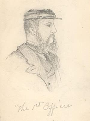 George Willoughby Maynard NA (1843-1923) - Graphite Drawing, The 1st Officer