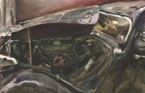 Howard J. Morgan (b.1949) - Signed Contemporary Watercolour, Vintage Car