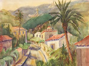 Margaret Melliar-Smith (1905-c.1992) - 1976 Watercolour, Mediterranean: Margaret Melliar-Smith (1905-c.1992)