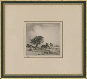 Albany E. Howarth ARE (1872-1936) - Signed Etching, The Sand Cart