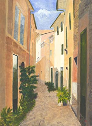 V. Carter - A Set of Two 2012 Majorcan Street Scenes