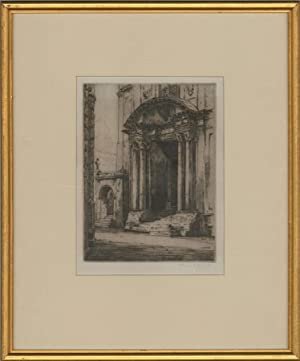 Albany E. Howarth ARE (1872-1936) - Signed Etching, The Old Ashmolean