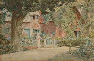 Thomas N. Tyndale (1860-1930) - Late 19th Century Watercolour, Summer Cottage
