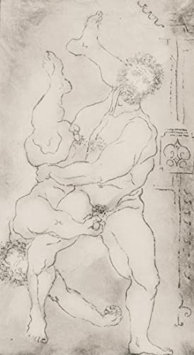 Inge Clayton FRSA (1942-2010) - 1986 Etching, Hercules and Diomedes, After Rossi