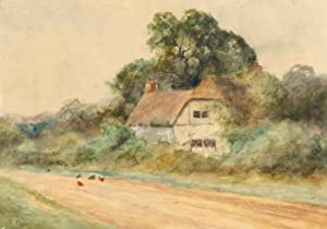 H. Duncan - Signed Early 20th Century Watercolour, The Farmhouse