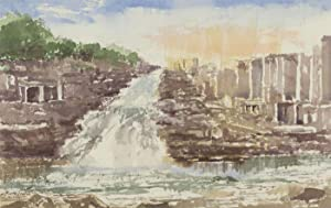 Harry Herbert - Signed 2000 Watercolour, The Waterfall
