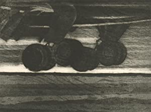 Joe Auty - 20th Century Etching, Touchdown