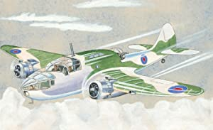Mid 20th Century Watercolour - Camouflage Fighter Plane