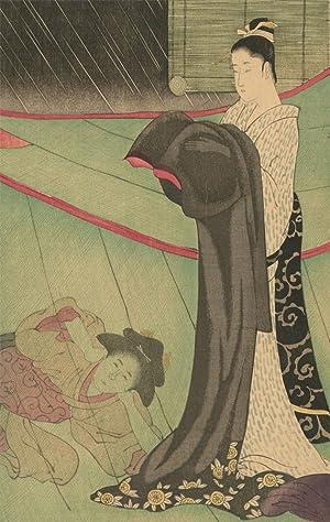 Utamaro Fine Art Print The Mosquito Net Japanese Art Print