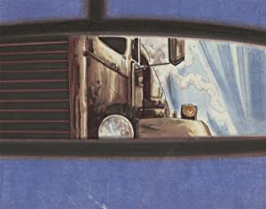 20th Century Mixed Media Illustration - Rear Mirror