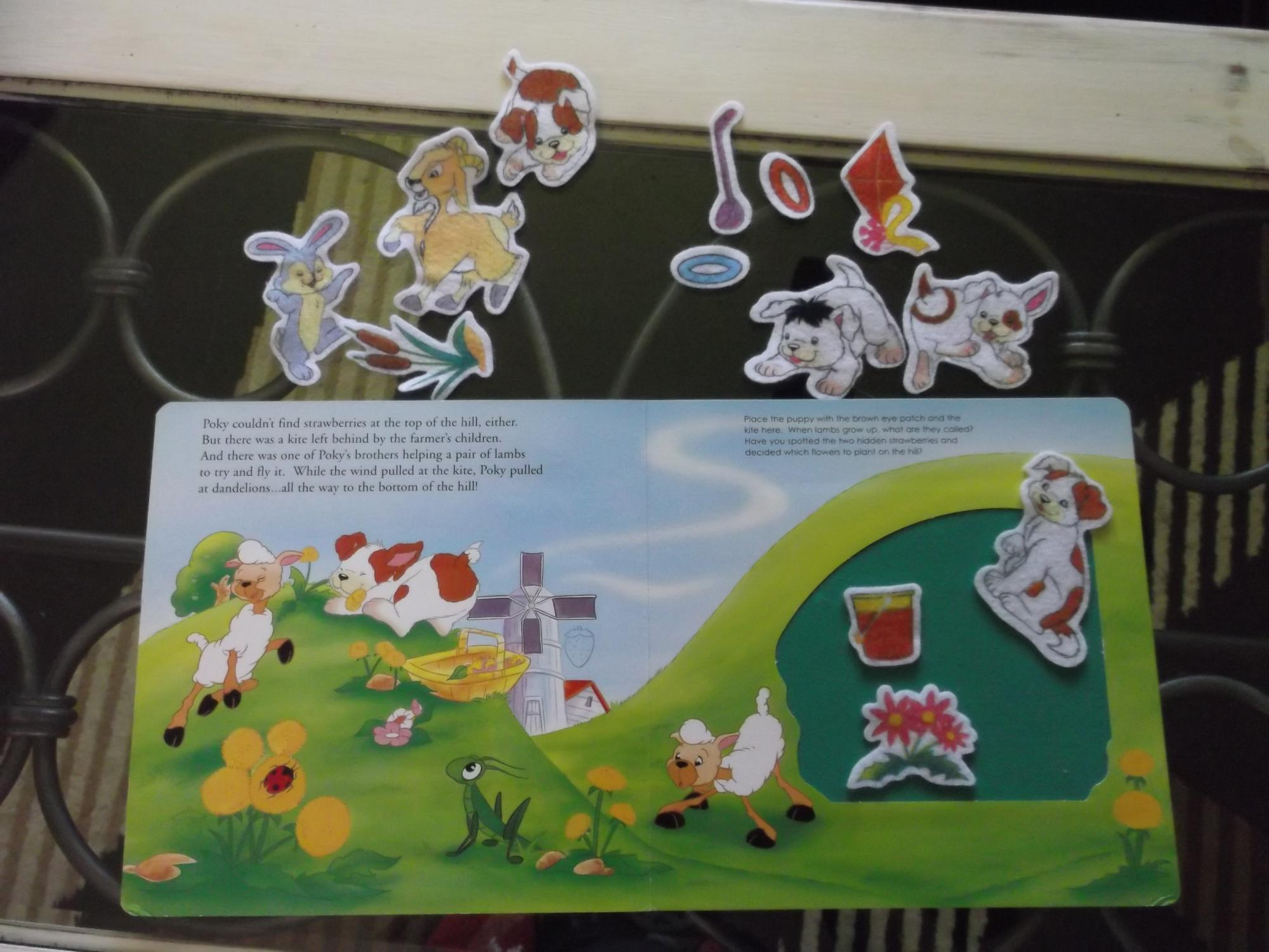 The Poky Little Puppy Pokey And Friends Felt Play Book By Erin