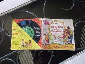 Goldilocks and the Three Bears, record and book: Walt Disney