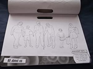 3D Human Body Sticker Coloring Pad: Discovery Kids