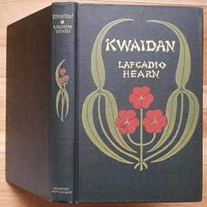 KWAIDAN: Hearn, Lafcadio