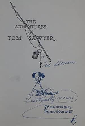 THE ADVENTURES OF TOM SAWYER [and] THE: Rockwell, Norman) Twain,