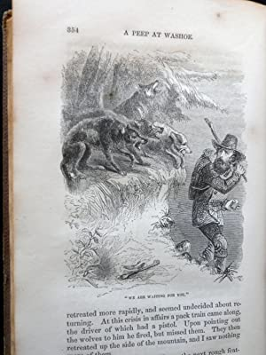 CRUSOE'S ISLAND:.WITH SKETCHES OF ADVENTURE IN CALIFORNIA AND WASHOE.: Browne, John Ross.