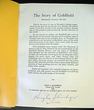 GOLDFIELD.: Shamberger, Hugh A.,