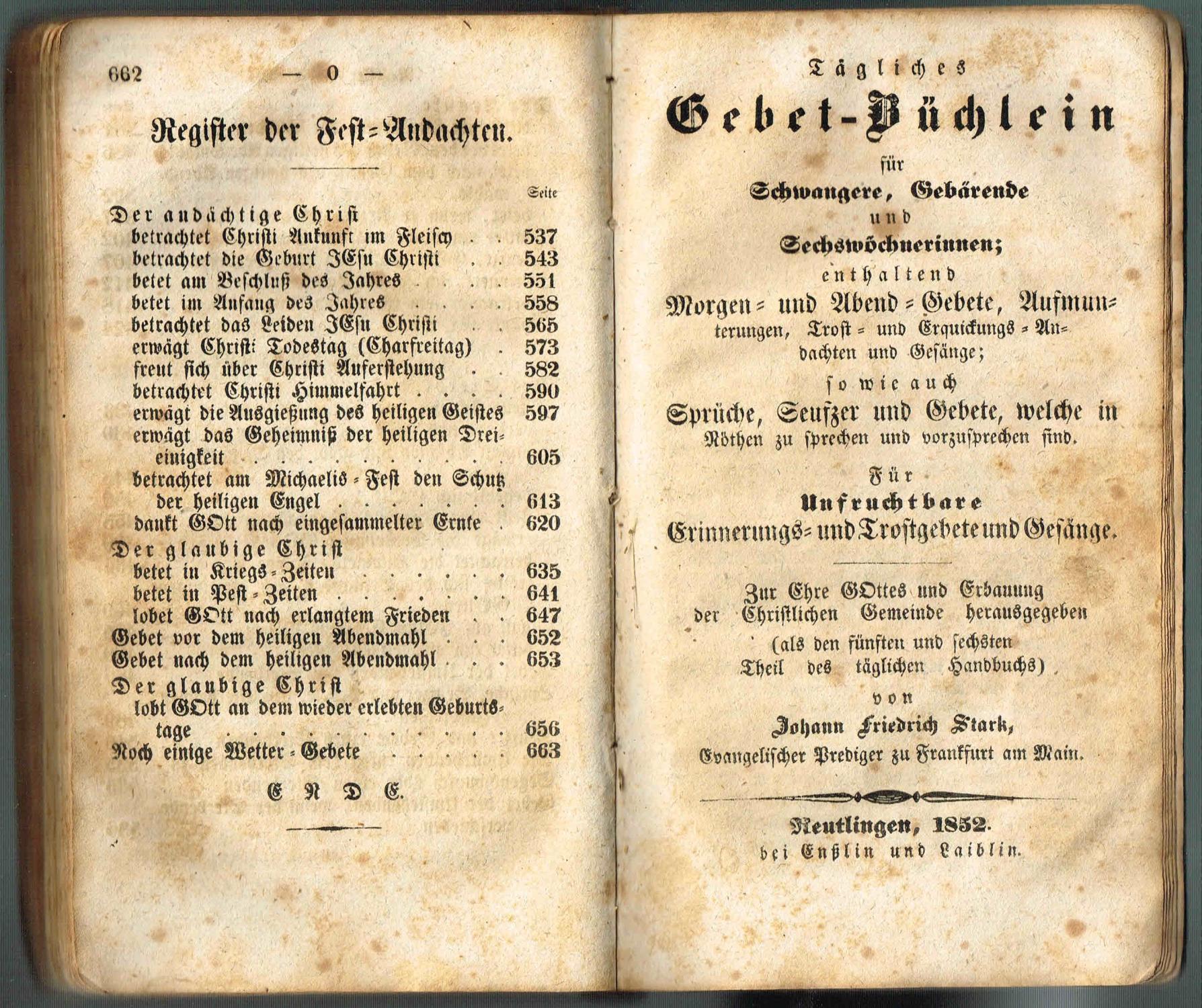 Starks Tägliches Hand Buch In Guten Und