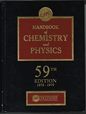 HANDBOOK of CHEMISTRY and PHYSICS, 59TH Edition