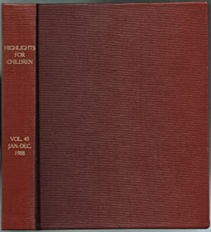 HIGHLIGHTS FOR CHILDREN: Volume 43, No. 1-11,: Barbe, Walter B.