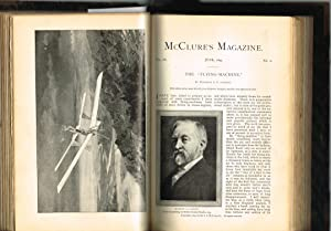 McCLURE'S MAGAZINE: Vol. VIII, No.6, April 1897 and Vol. IX, No.1-5, May-Sept 1897 (Missing Front...
