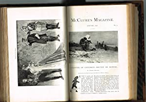 McCLURE'S MAGAZINE: Vol. IX, No.6, October 1897 and Vol. X, No.1-5, November 1897 - March 1898 (M...