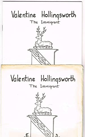 DESCENDENTS of Valentine Hollingsworth, Sr. (Hollingworth, Hollonsworth) + Valentine Hollingsworth,...