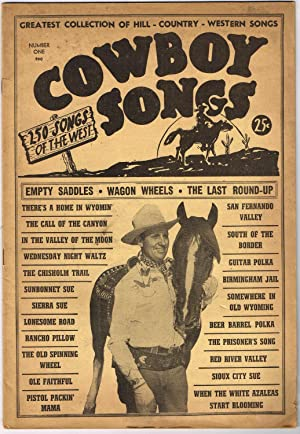 COWBOY SONGS NUMBER ONE: 250 SONGS OF: Charlton Publishing Corporation