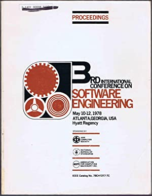 3rd (ACM/IEEE/NBS) International Conference on SOFTWARE ENGINEERING, Proceedings; May 10-12, 1978...
