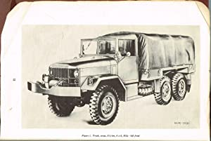 ORD 9 SNL G-742, SUPPLY MANUAL, GROUP G LIST OF ALL SERVICE PARTS of TRUCK, CARGO: 2 1/2-TON, 6X6, ...