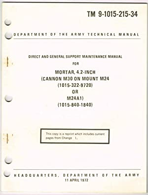 TM 9-1015-215-34, DIRECT AND GENERAL SUPPORT MAINTENANCE: Department of the